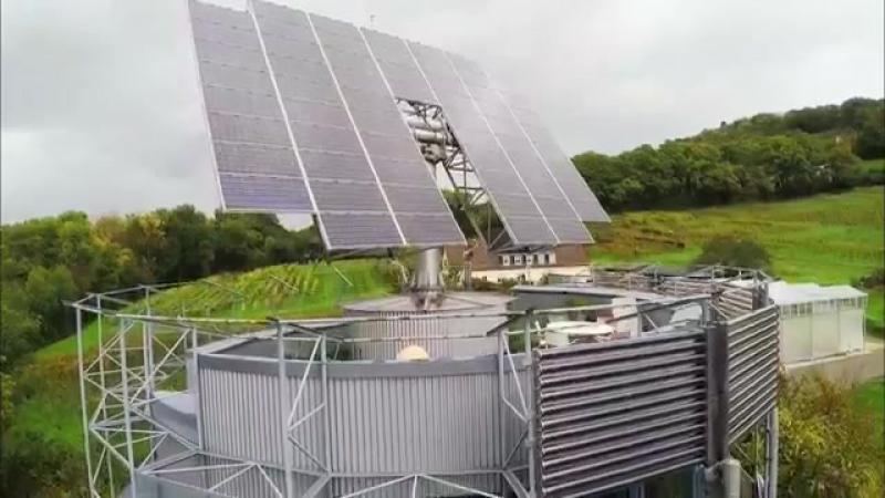 Живой дом с нулевым потреблением энергии