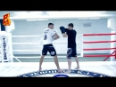 Тайский бокс. Артем Левин. Удар локтем через финт с шагом  UFC ЮФС РФ