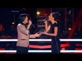 Tell Him. Голос 2 Лучший дуэт, нереальное звучание Гела Гуралиа и Полина Конкина