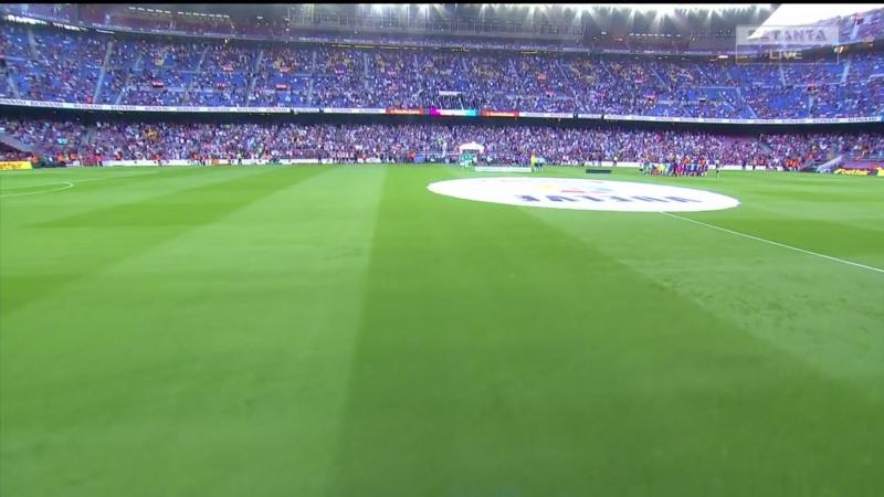 Чемпионат Испании 2017-18 / Primera Division / 1-й тур / Барселона (Барселона) – Бетис (Севилья)