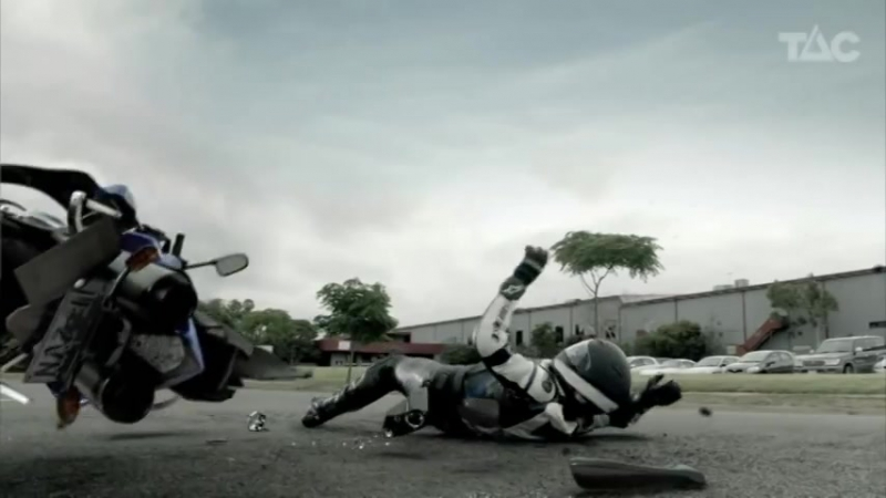 Motorcycle Reconstruction - TAC tv road safety commercial