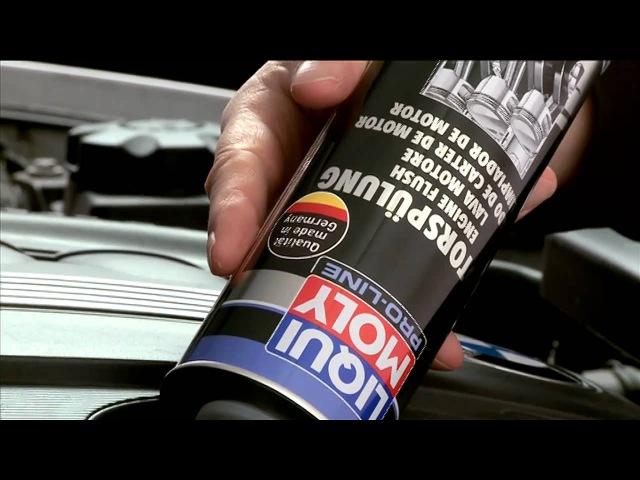 Антифрикционная присадка с дисульфидом молибдена в моторное масло Pro-Line Motor-Verschleiss-Schutz