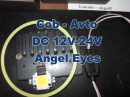 Cob - Avto DC 12V - 24V Angel Eyes driver