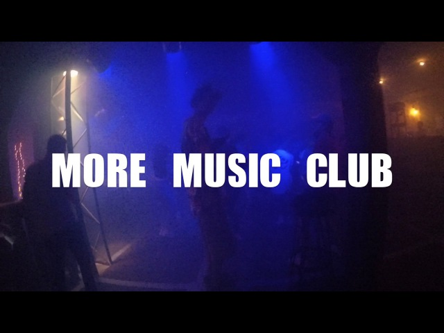 Underwave on the stage of More Music Cub [BARZ]