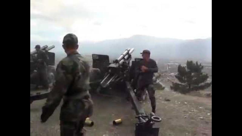 21 Pare 105 mm çekili obüs Atışı ERZİNCAN.mp4