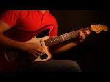 Johann Sebastian Bach Chaconne Psychedelic Rock Electric Guitar