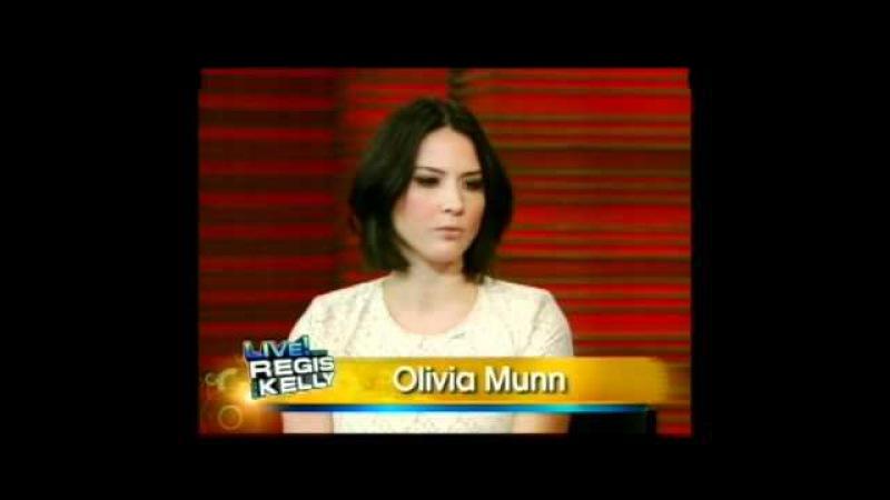 Olivia Munn 2011.01.20 - Regis Kelly