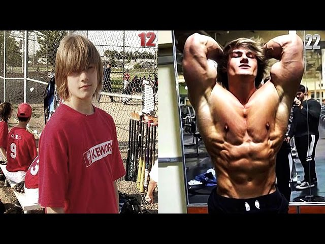 Jeff Seid Transformation 10 Years Fitness Model 2017 IFBB PRO MR OLYMPIA REVERSE VERSION