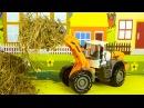 Мультфильм для детей про Трактор и Грузовик Экскаватор в Городке 2D Мультик про м...