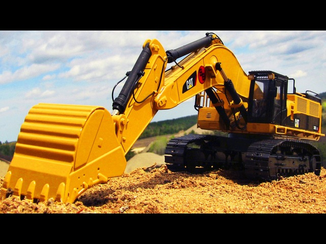 BIG Excavator Truck w Colors Trucks for Children Learning Educational Video | Kids Cartoon