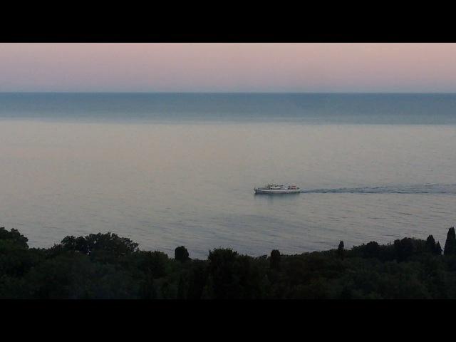 Black Sea. Alupka.