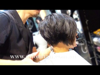 Kenneth Siu's Haircut - Ponytail Layers