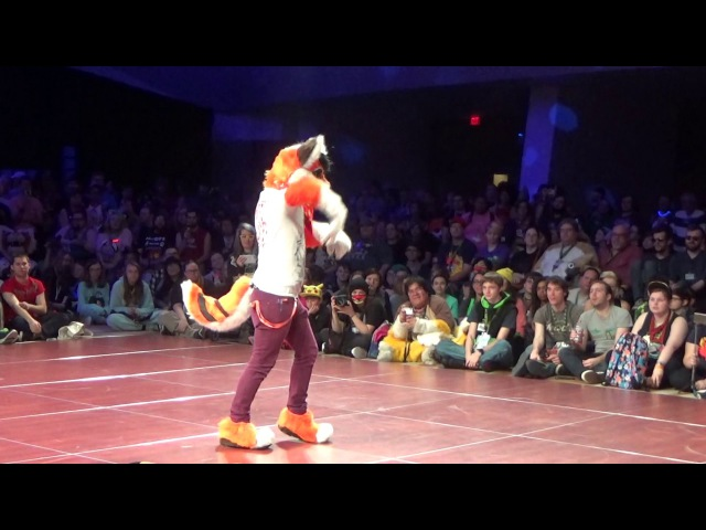 FWA 2017 Fursuit Dance Competition - Dox Drakes