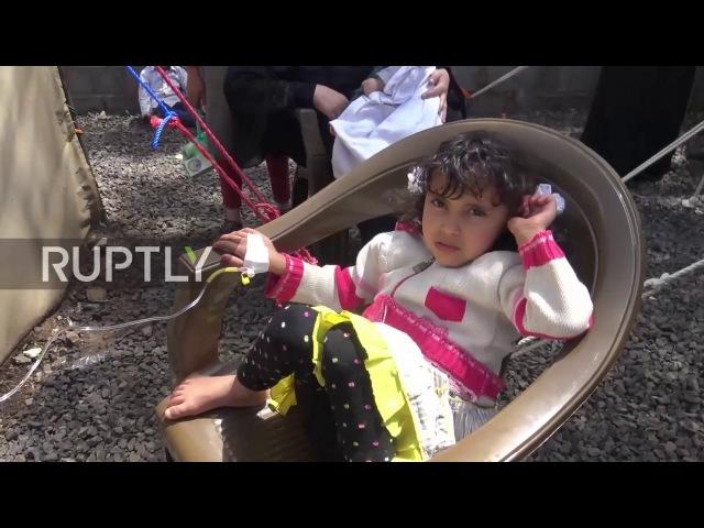 Йемен: Крупномасштабная эпидемия холеры опасается в раздираемом войной Йемене.