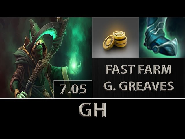 GH [Necrophos] Fast Farm ► Fast Guardian Greaves ► Dota 2 [7.05]