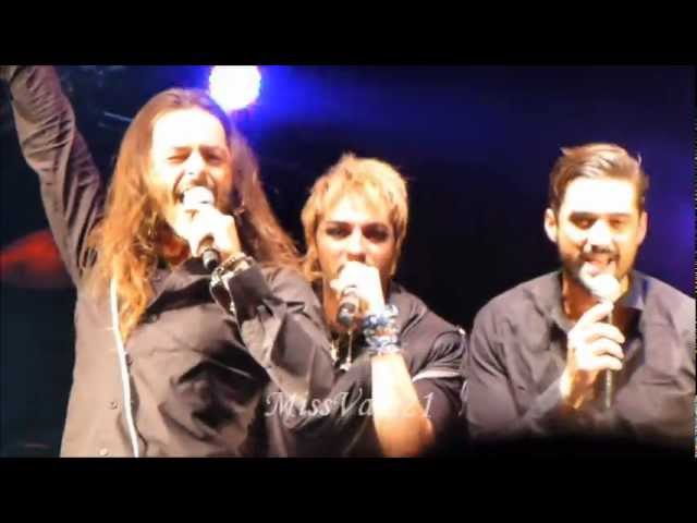 Michael Jones, Nuno, Solal, Flow, Mikele Merwan- Je te donne (Foot Concert de Lyon le 13.10.12)