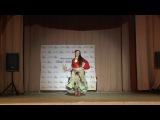 Цыганский танец, Ошуркова Татьяна. Шантел, рук. Баталова Ганга