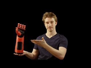Functional Phantom Pain Prosthetic Hand (3D Printed)