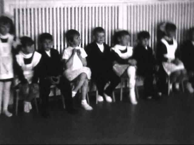 До свидания, детский сад! Здравствуй школа! (г.Братск). 1 июня 1972 года.