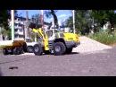 Погрузчик фронтальный LIEBHERR L586 TEST DRIVE
