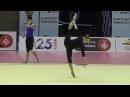 Katsiaryna HALKINA (BLR) hoop training - 2017 Trofeu Ciutat de Barcelona