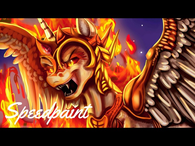(Screencap redraw) Daybreaker! [Speedpaint]