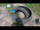 как разрезать грузовую шину