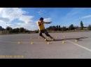 My Freestyle Skating ,Tricks and Slides- SEBA FR1 Yellow-Voznja RoleraTrikovi