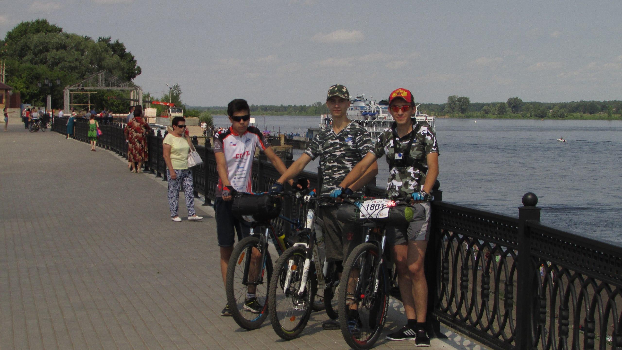 велопоездка, нефтекамск, сарапул, Чайковский, 2017 год