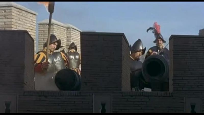 Великолепный авантюрист (1963). Штурм и разграбление Рима войсками Карла V в 1527 году