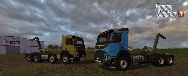 Грузовик 8×4 и 6×4 «Volvo FMX 500 Hooklift»