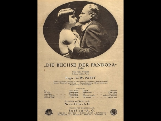 Pandoras Box  (1929)  Georg Wilhelm Pabst- Louise Brooks, Fritz Kortner