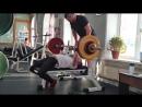 Жим Лёжа 117,5 кг! (Второй подход! подготовка на Кубок Азии!)