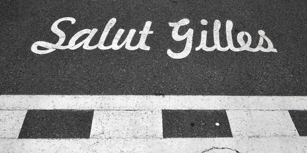 Линия старт-финиш автодрома имени Жиля Вильнёва на острове Нотр-Дам в Монреале