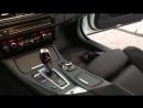 Аквапринт под черное матовое дерево для салона BMW 5 F10.
