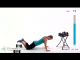 Fitness Blender - Total Body Strength Workout for People who get Bored Easily - Total Body Burnout