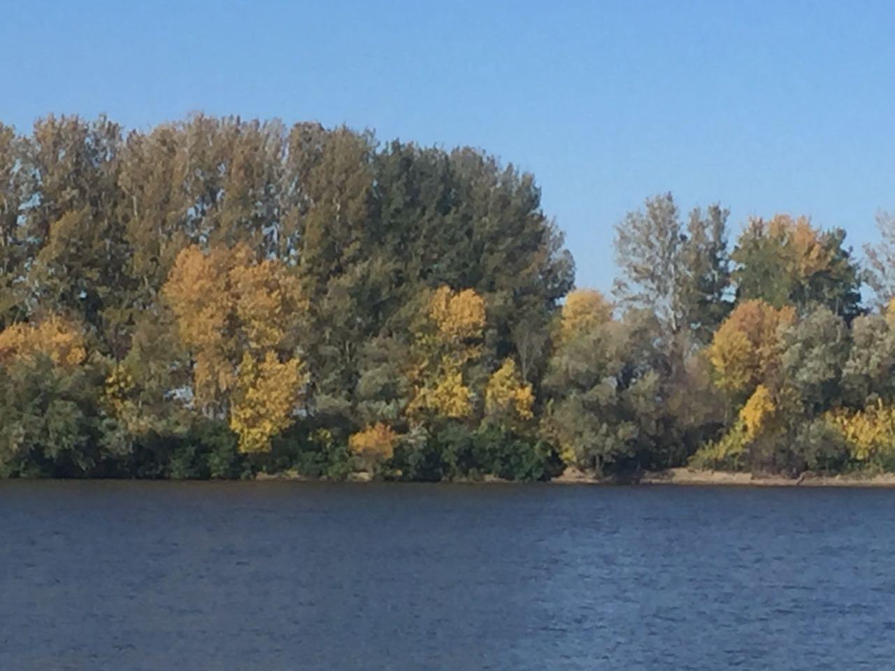 Осень на базе отдыха