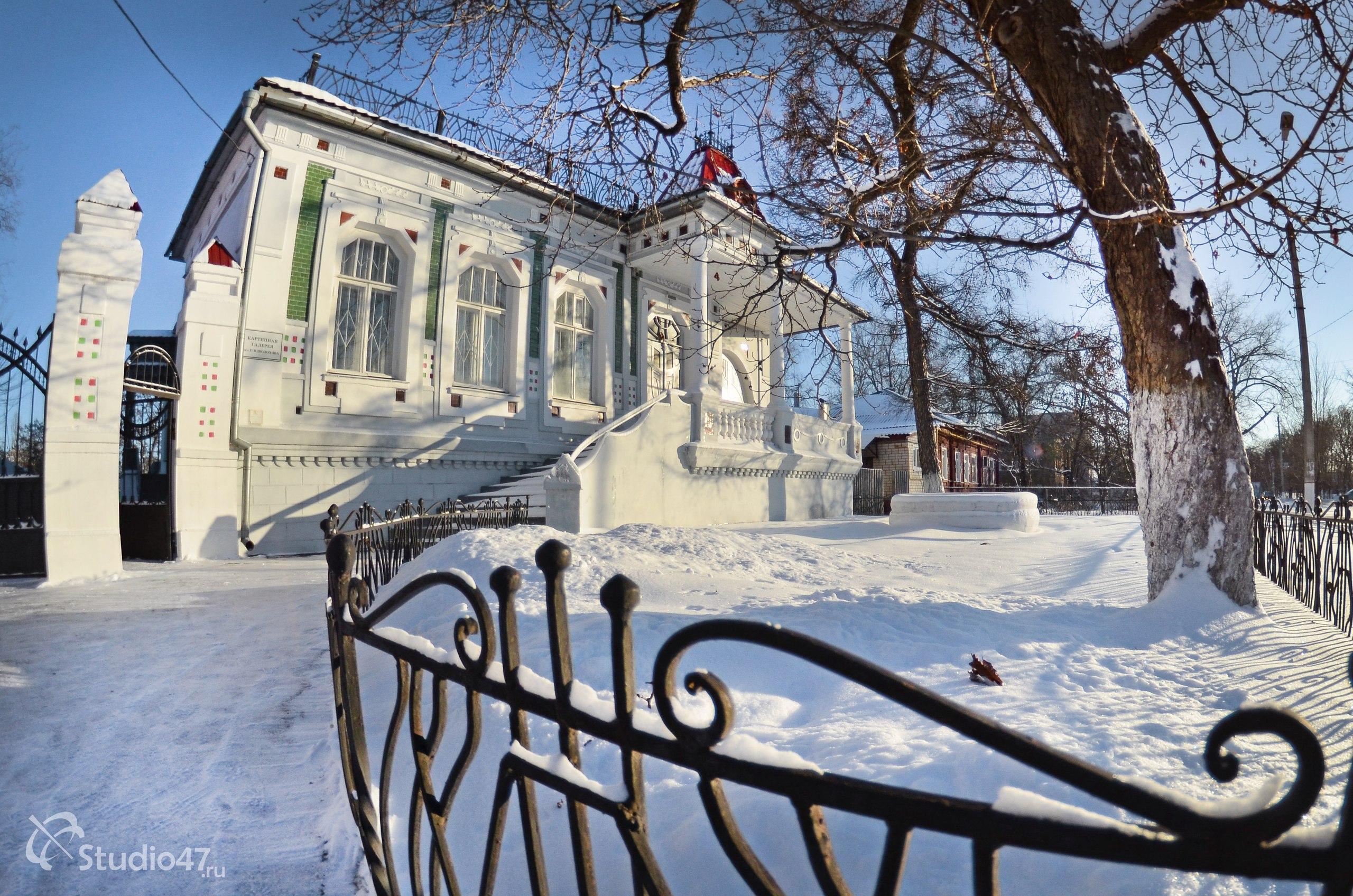 Картинная галерея Шолохова в Борисоглебске