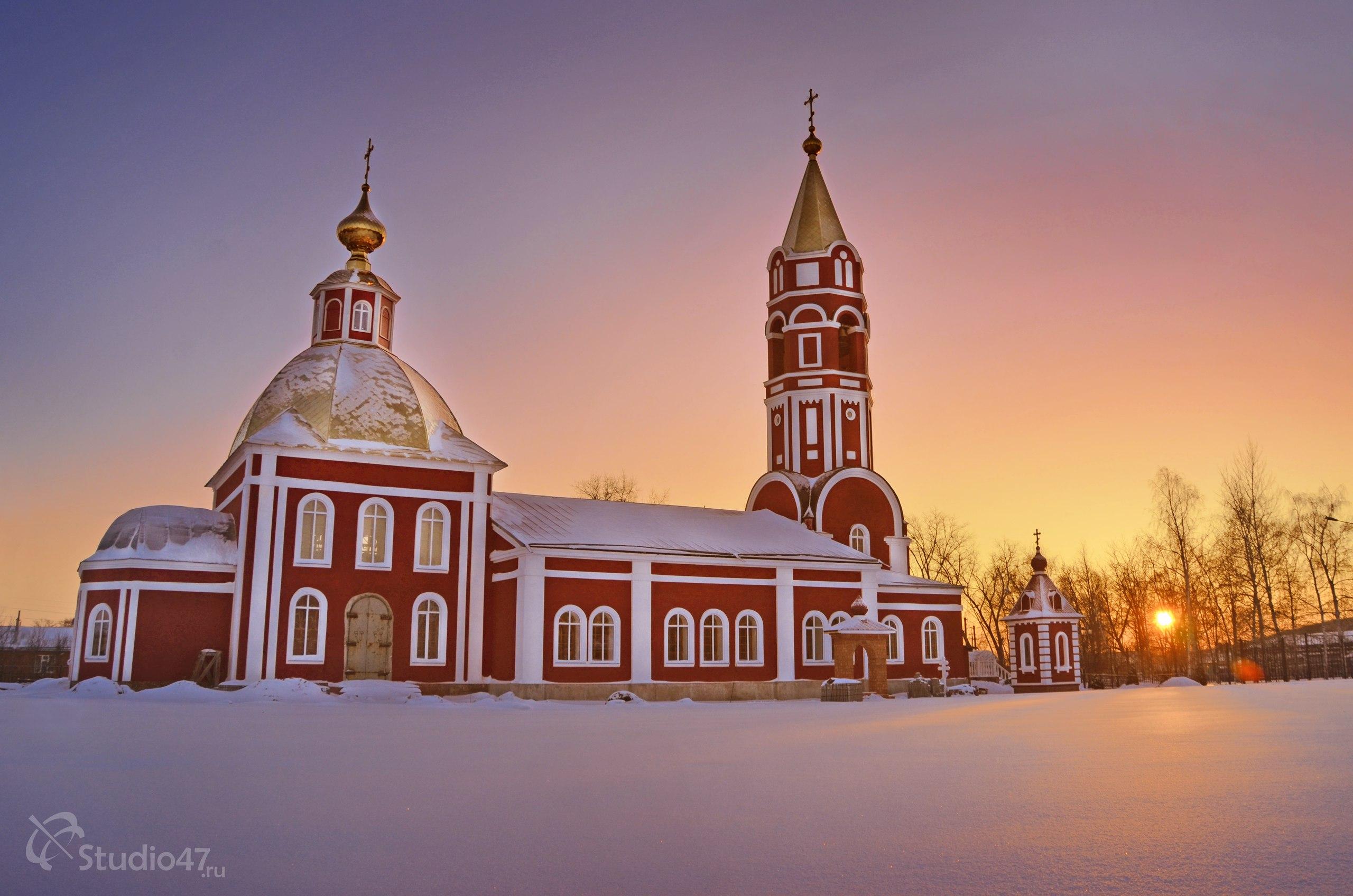 Храм Бориса и Глеба в Борисоглебске
