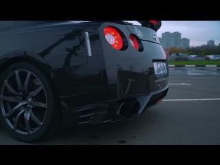 860HP. Nissan GTR R35 - Top exhaust - HKS