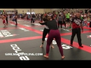 Girls Grappling No-Gi @ NAGA Battle at the Beach 2017 • BJJ Wrestling