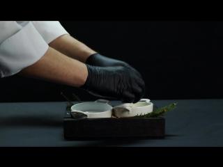 Телячий язык томлёный в тесте из белых грибов