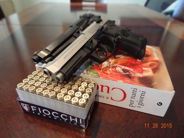 Beretta 92FS Compact inox - Беретта 92ФС компакт - обзор и результаты стрельбы в тире