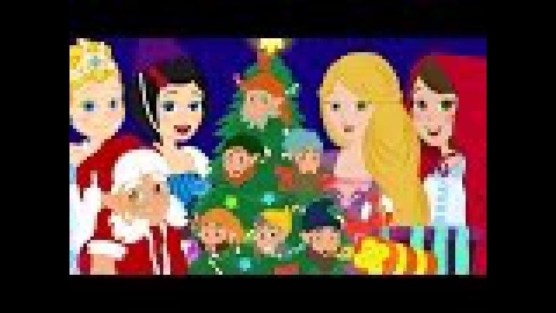 Vive Le Vent Chanson de Noel avec Cendrillon Raiponce Le petit Chaperon Rouge les P'tits z'amis