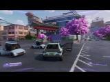 10 минут геймплея Agents of Mayhem - тачки, вождение и трюки