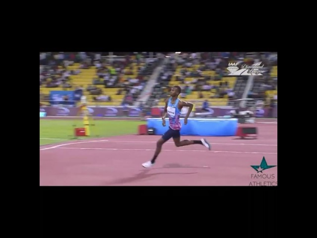 Mutaz BARSHIM jumped 2.36m from the Doha Diamond League 2017