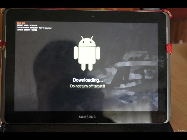 Как прошить планшет Samsung Galaxy Tab 2 10.1 прошивкой Cyanogenmod.