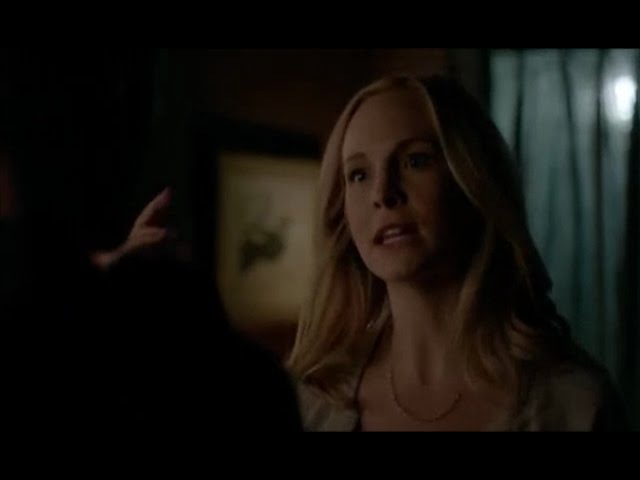 Vampire Diaries 7x21 Caroline/Stefan You usually respect people's choices