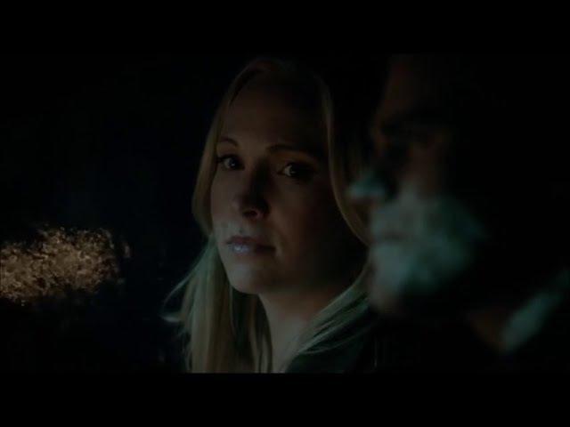 Vampire Diaries 7x21 Stefan/Caroline talking about Alaric Do you love him?
