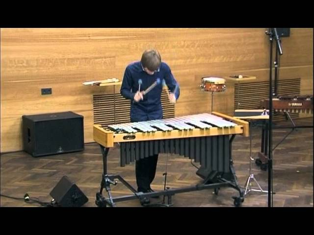 Percussion recital of Rostislav Sharaevsky